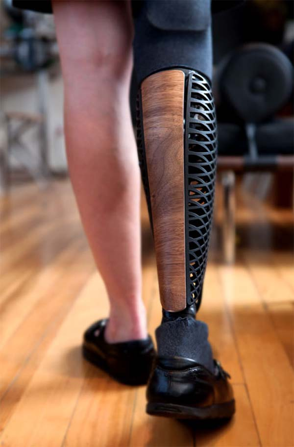 Not only are these prosthetics functional, but they are beautiful.