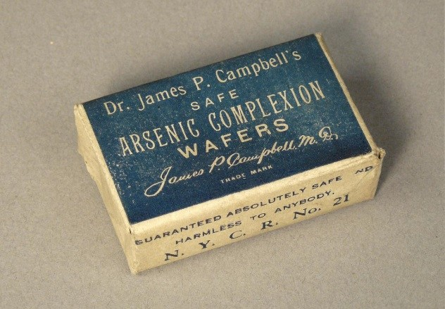 Arsenic Complexion Wafers