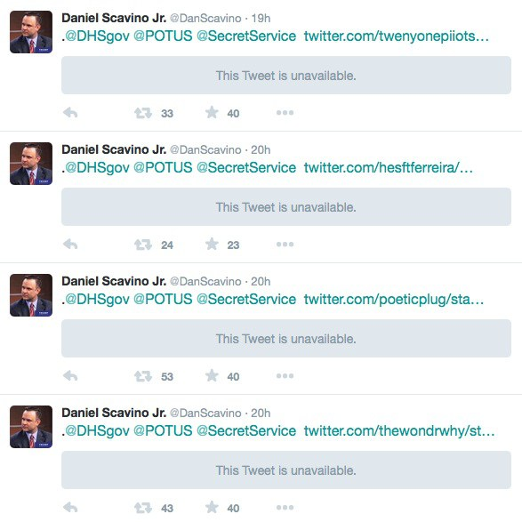 Daniel Scavino Secret Service Tweets 2