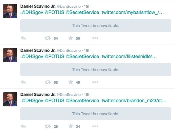 Daniel Scavino Secret Service Tweets 3