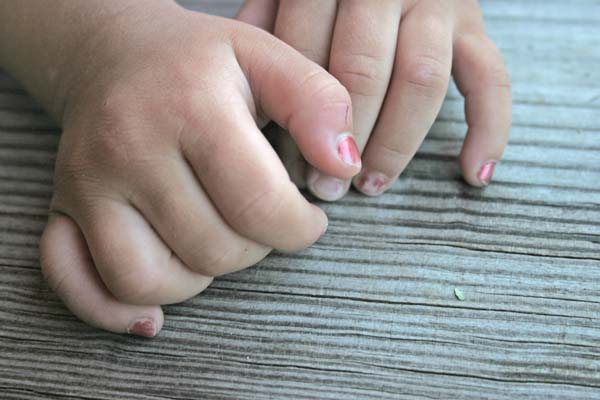 6.) It can take your finger and toenails 1/2 a year to grow an entirely new nail (from base to tip).