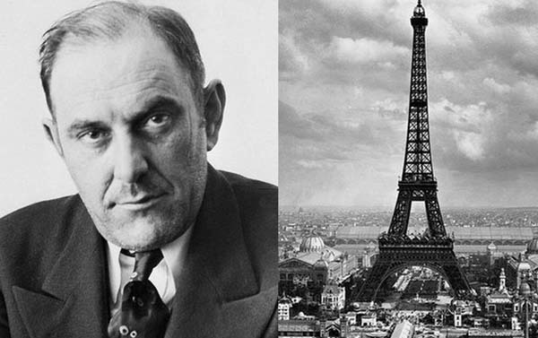 13.) A con man sold the Eiffel Tower: Count Victor Lustig, a famous con man, convinced six scrap metal dealers to bid on the Eiffel Tower. The winning dealer paid ,000 for the monument and gave it to Lustig... who can off.