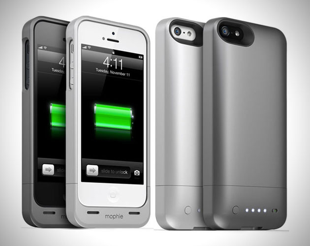 10) Mophie Power Case - This does it all, protects your phone from damage and has the ability to charge it. This should come standard with all iPhones.