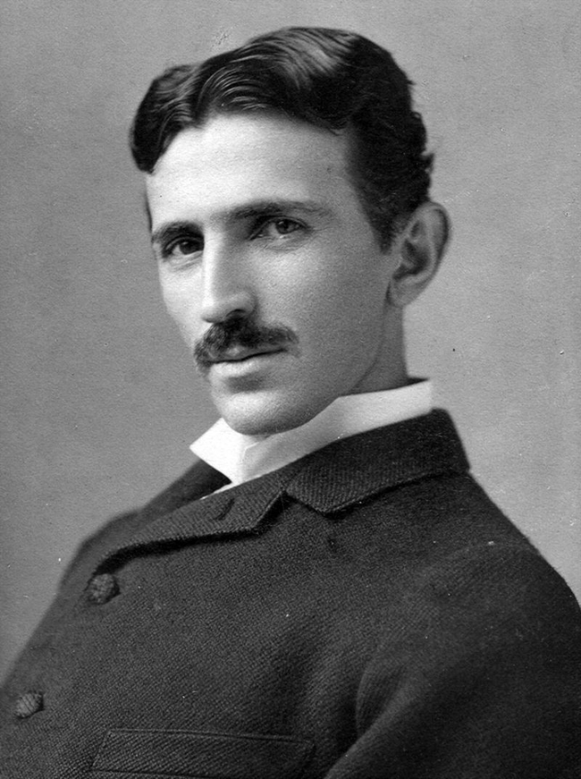 "All the way back in 1919 Nikola Tesla predicted text messaging. He described an ""apparatus"" that could be used to ""transmit wireless messages all over the world"". I"