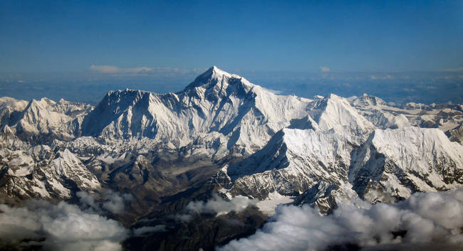 Did you know Mount Everest moves sideways, not up?