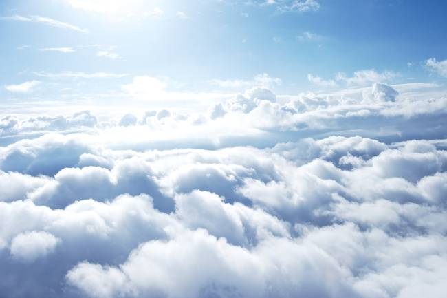 Did you know that clouds usually weigh around 500 tons?