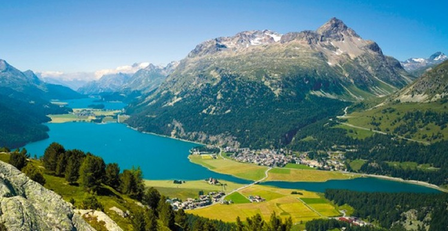 Did you know that Switzerland rises and falls 25 centimeters each day?