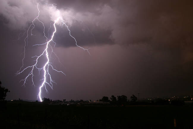 Did you know that lightning can strike the same place twice (well, many times actually)?