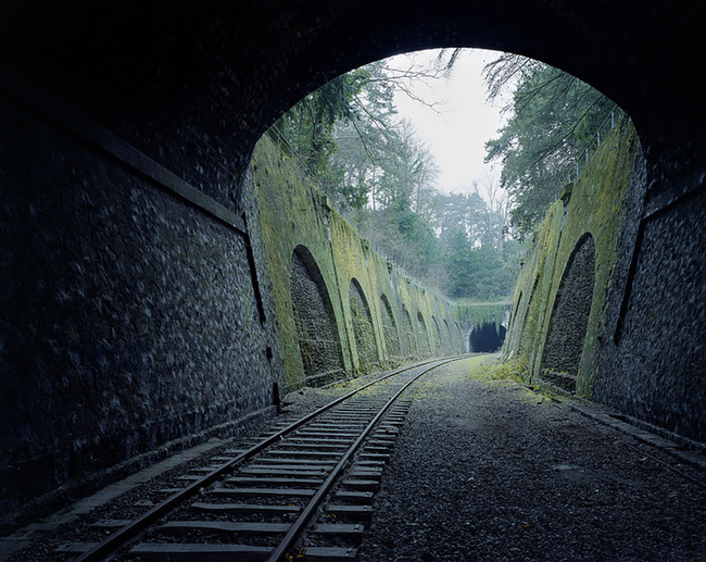 160 year old abandoned Paris railway, yup!