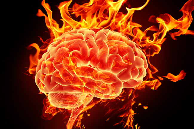 The brain releases so much dopamine during orgasms that a brain scan resembles that of someone on heroin.
