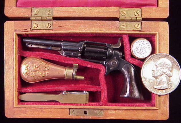 1/3 scale Colt 1855 Root Revolver