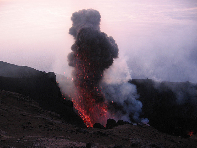 The most active volcano on Earth is in southern Italy.