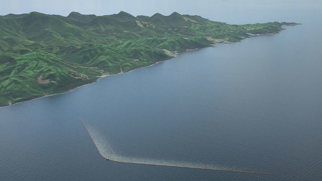 This innovative mission is set to launch in 2016. The first barriers will be placed in the ocean near Japan, and plans are in place to install one in the ocean between California and Hawaii.
