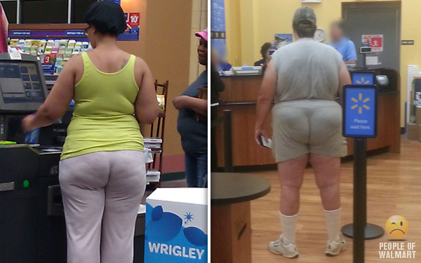 Big butts in walmart pic 959