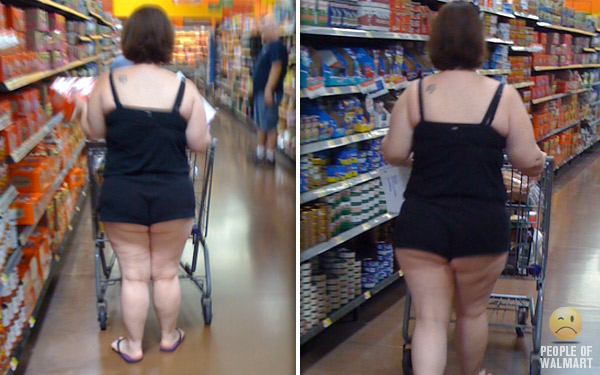 Big butts in walmart pic 444