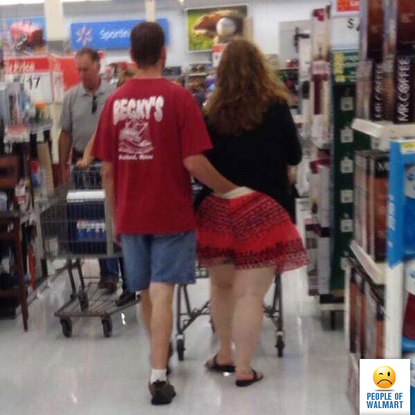 Big butts in walmart pic 706