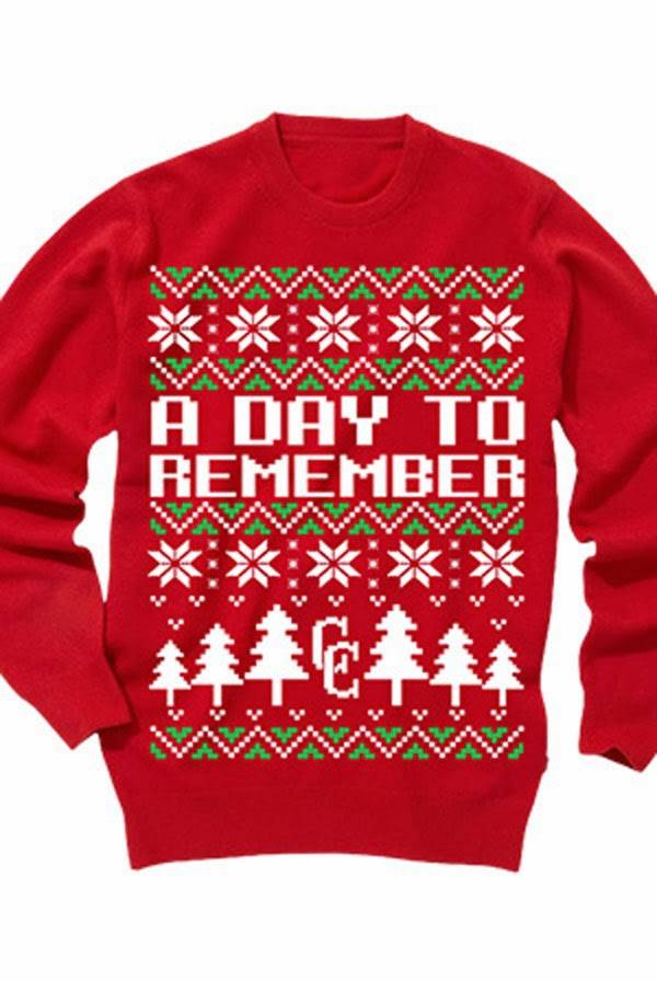 3 a day to remember - Metal Band Christmas Sweaters