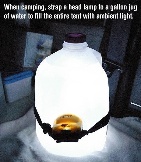 Water Jug Ambient Light