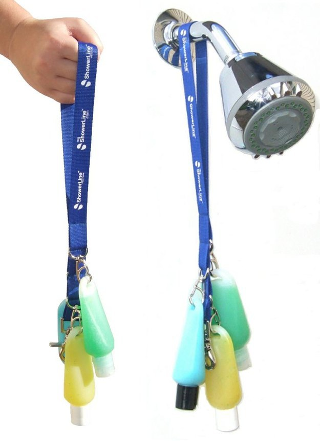 Lanyard Shower Caddy
